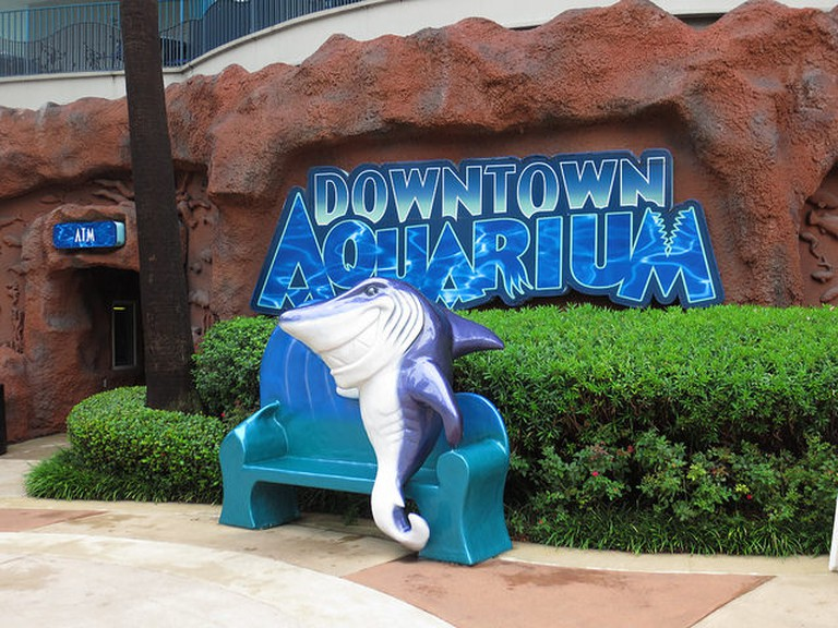 Downtown Aquarium, Bagby Street