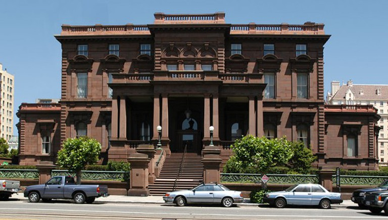 The grand and mysterious home of the Pacific-Union Club