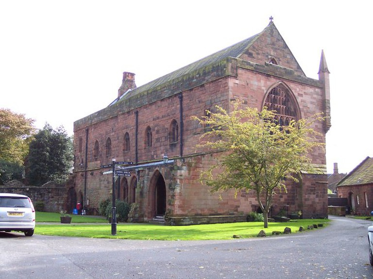 The priory at Carlisle Cathedral