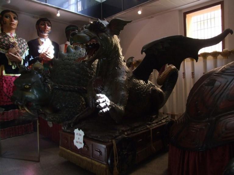One of the Corpus Festivity's carts