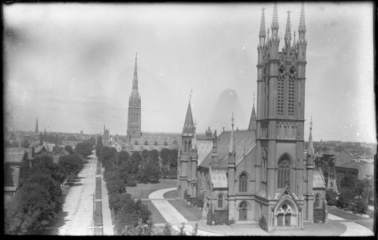 Metropolitan United Church in 1896