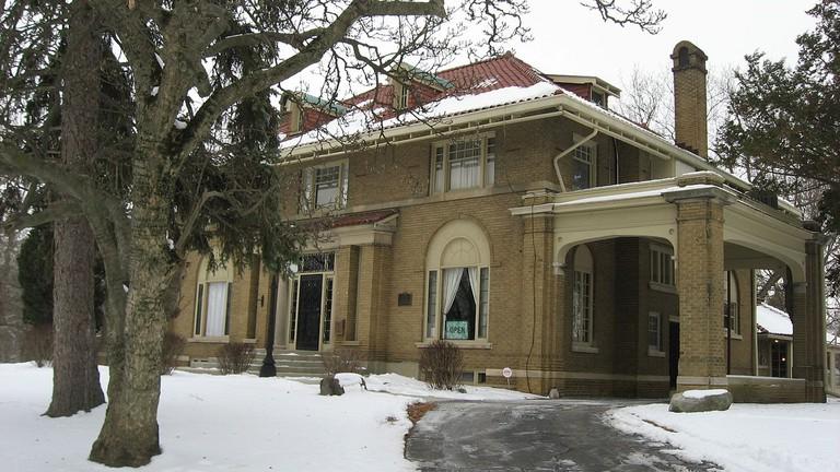 Elwood Haynes House in Kokomo