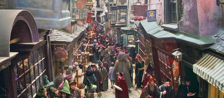 Diagon Alley, Harry Potter and the Philosopher's Stone
