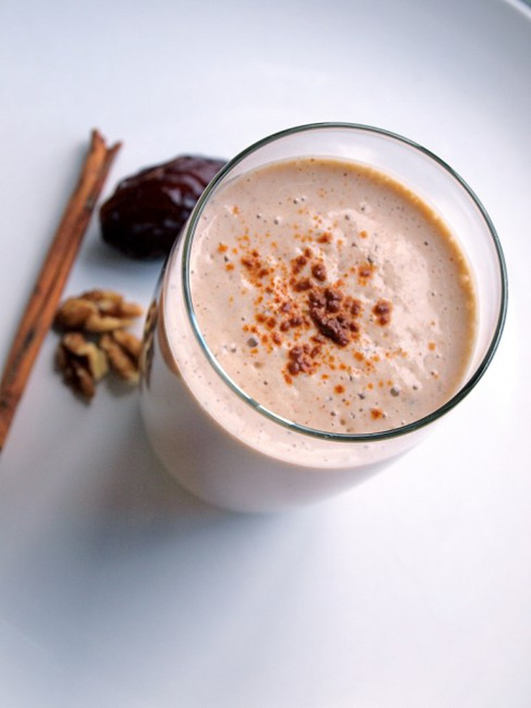 Banana Nut Smoothie - Drink Up
