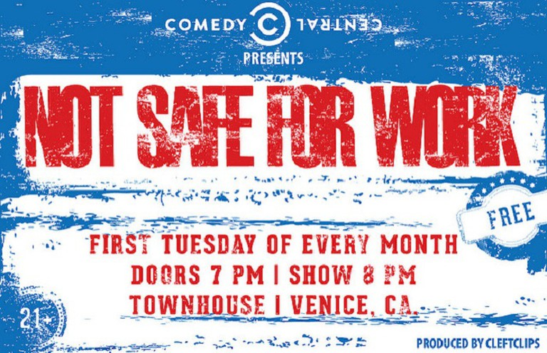 Not Safe For Work Comedy