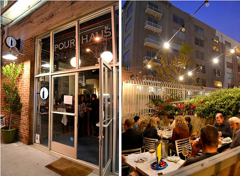 Pour Haus Wine Bar, Los Angeles