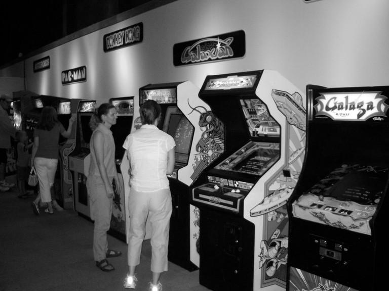 An 80s Arcade - bars rétro