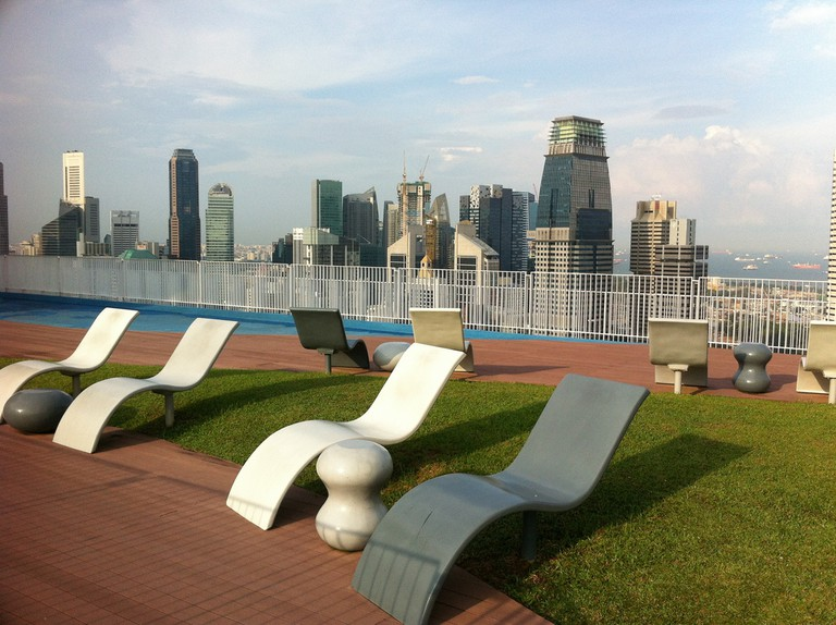 The Pinnacle Sky Garden 50th Storey Skybridge, Singapore