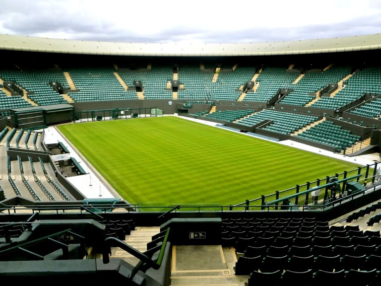 Court One at Wimbledon