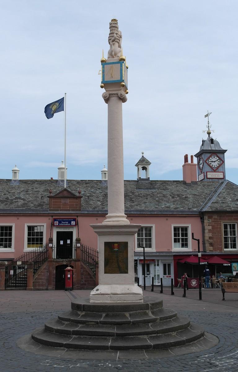 The Market Cross in Carlisle, England