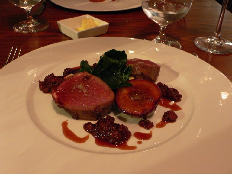 Dinner at the Waterside Brasserie
