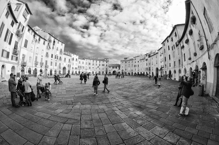 Piazza in Lucca