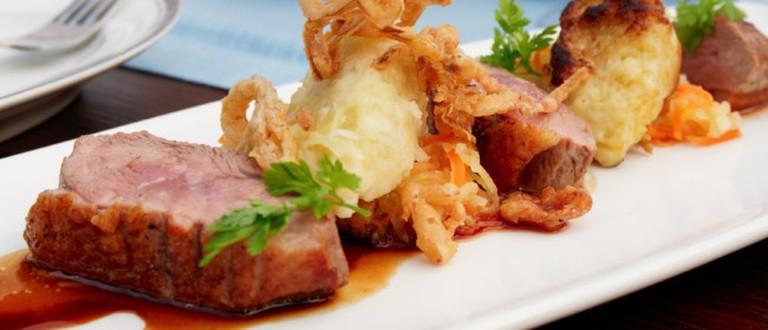 50 West Bistro's cuisine