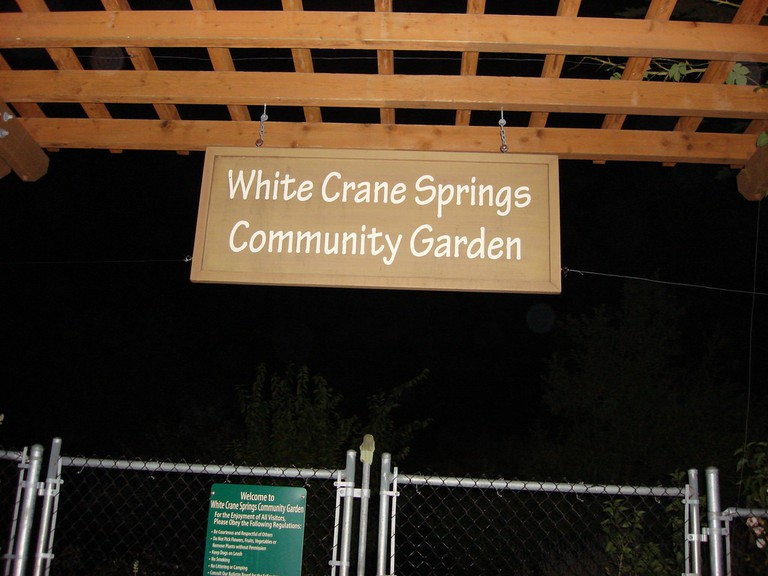 The White Crane Springs Community Garden