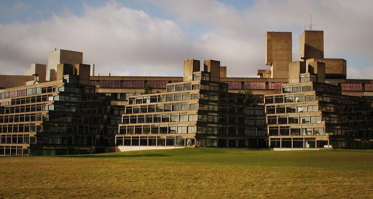Ziggurat Halls at the University of East Anglia