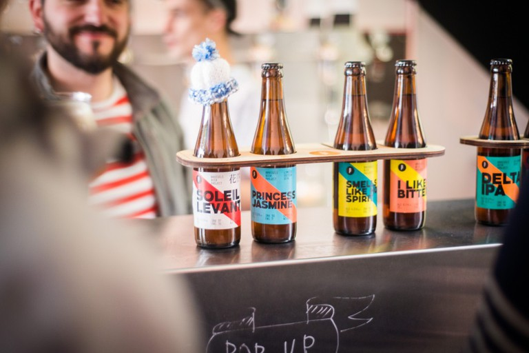 Several of the Beer Project's prototypes