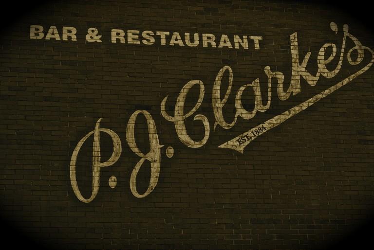 PJ Clarke's. Mmmmmm.