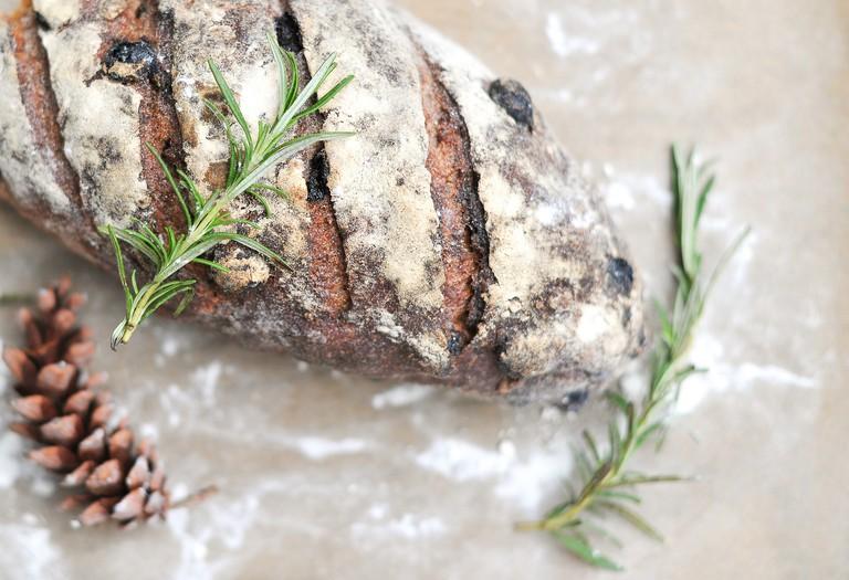 Autumn Raisin Loaf