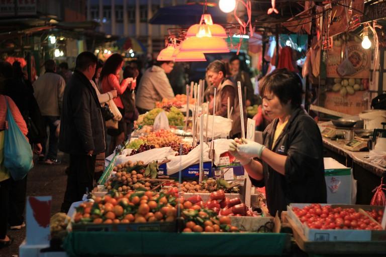 Temple Street Night Market, Yau Ma Tei