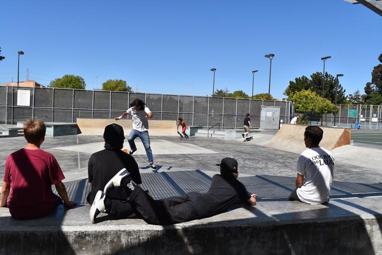 The Foster City Skate Park