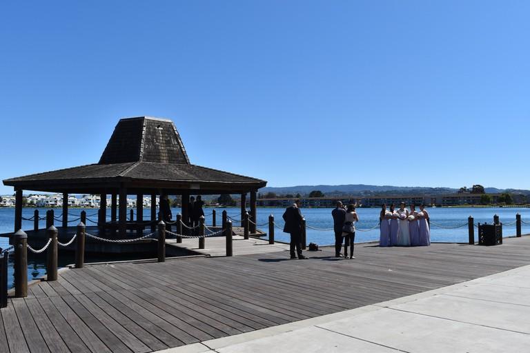 The pier at Leo J. Ryan Memorial Park