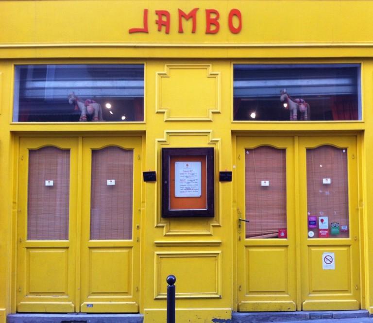 "Restaurant rwandais ""Jambo"", Paris"