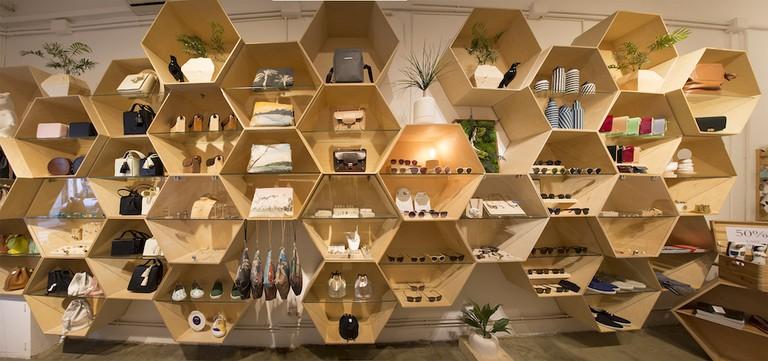 Beehive display at Nuovum