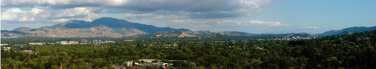 View of Mt. Diablo from Dinosaur Hill