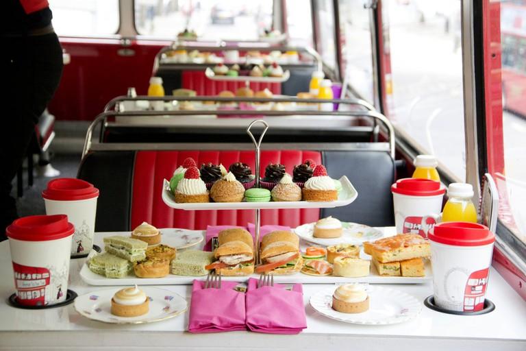 B Bakery Afternoon Tea Bus London Tour