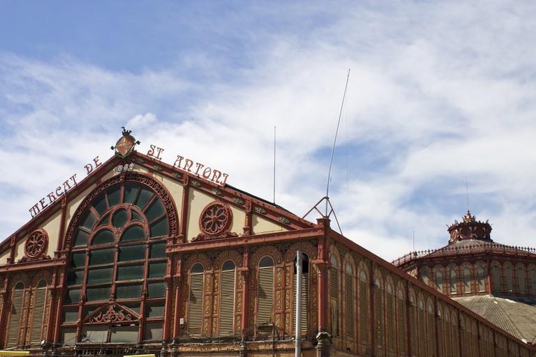 Sant Antoni Market, Carrer del Comte d'Urgell