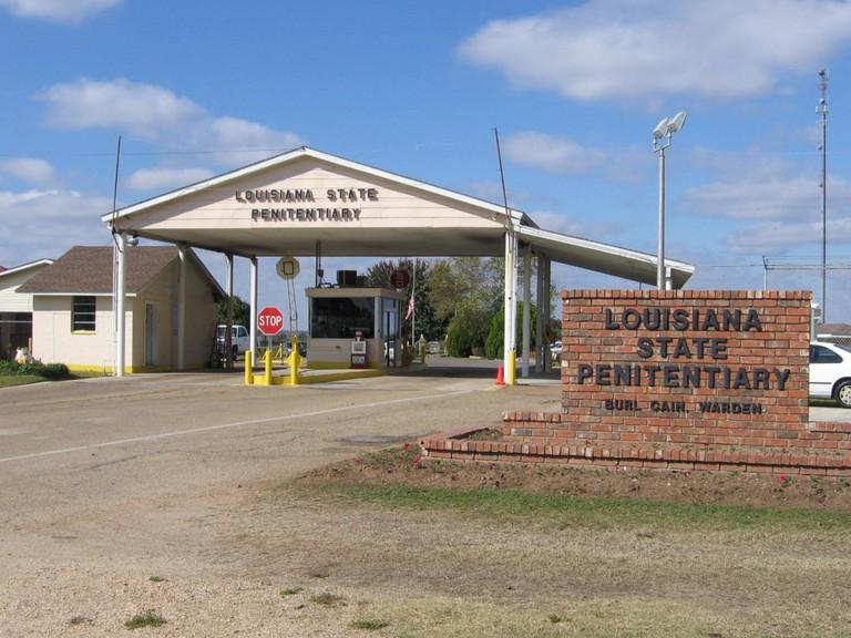 Louisiana State Penitentiary Entrance
