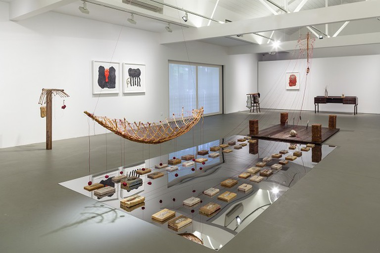 Exhibition view: We are home and everywhere by Zai Kuning, Ota Fine Arts Singapore