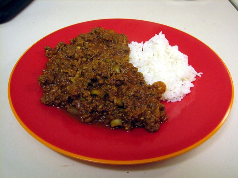 Meat with Rice