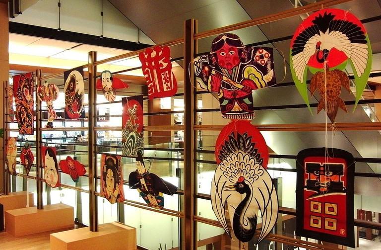 An image of Japanese kites