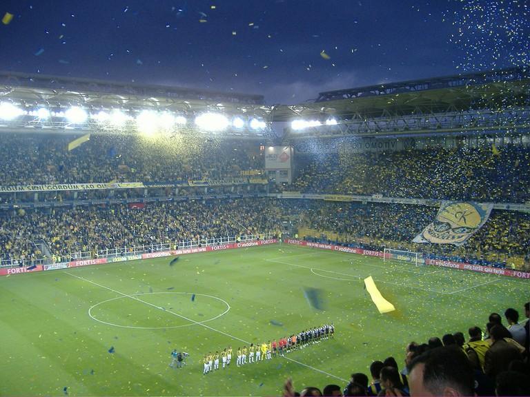 Fenerbahçe's Şükrü Saracoğlu Stadium