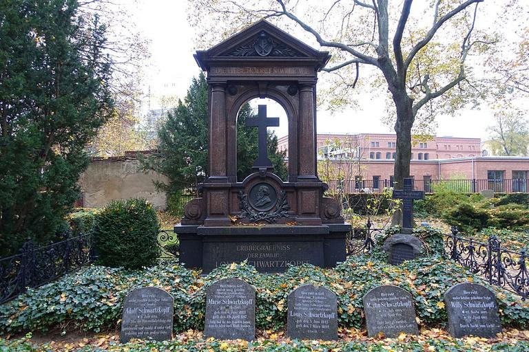 Dorotheenstadt cemetery, Berlin