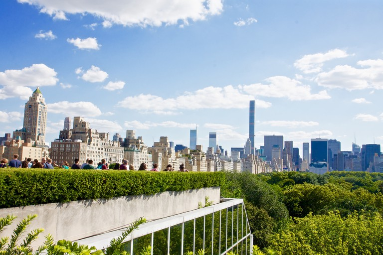 View of Central Park from The Met's Rooftop