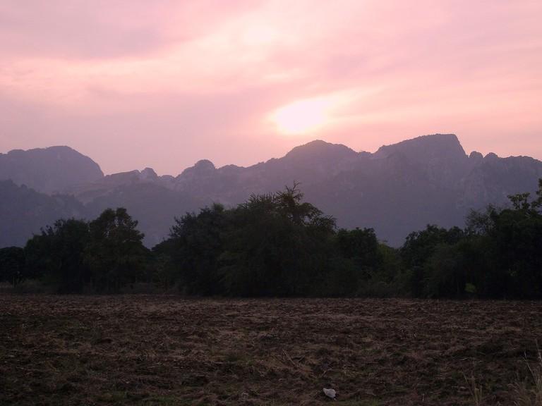Saraburi mountains