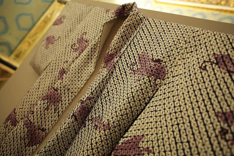 A vintage kimono from the Edo Period