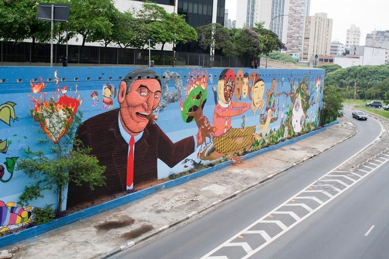 23 de Maio graffiti