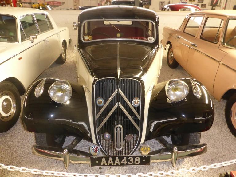 Citroën Traction Avant (1952), Cyprus Motor Museum, Limassol