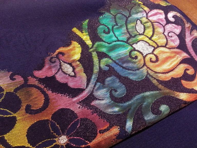 Colorful obi