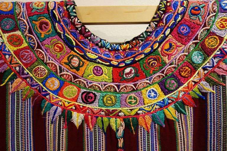 3. Mayan huipil