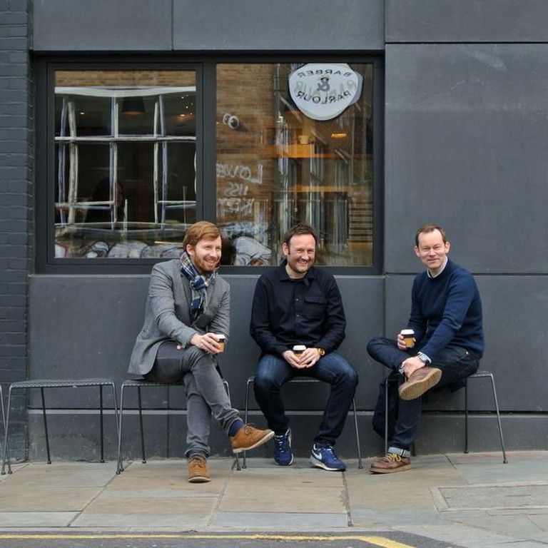 33/44 Architects directors (from left to right): James Jeffries, Stephen Davies and Will Burges