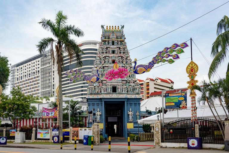Sri Srinivasa Perumal Temple, Little India, Singapore
