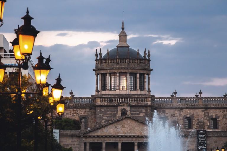 Hospicio Cabañas is a key architectural landmark in Guadalajara