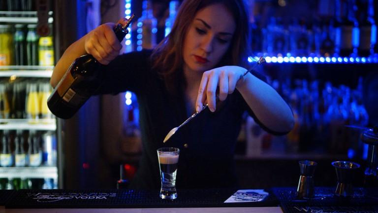 24 hour shots at Bar Warszawa | © Bar Warszawa
