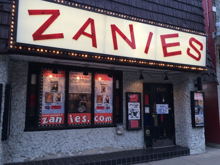 Outside of Zanies