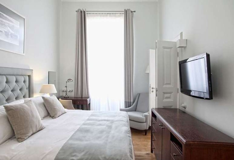 Guestroom at the Armata Boutique Hotel
