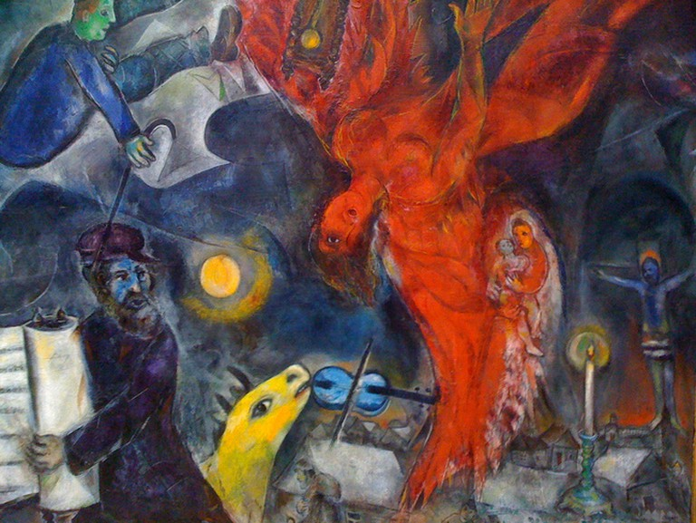 Enjoy works by Marc Chagall at the Ralli Museum